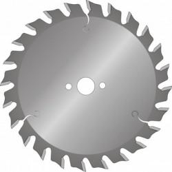 RVS Zaagblad C190X30 30T Cementgeb Plaat