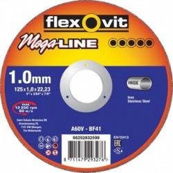 Flexovit Slijpsch Mega A46V 125X1,6 RVS