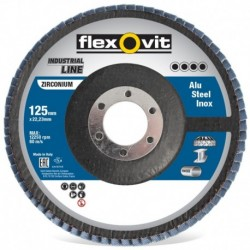 Flexov Vlaklamel Zirc 125 Con RVS K40