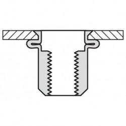 Popmoer Stl 27-Vo Vk M8X15,5 K 0,5-3 250