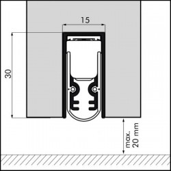 Ellenmatic Soundproof 1028mm