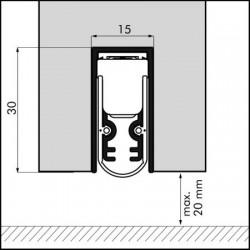Ellenmatic Soundproof Valdorpel 1228mm