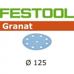 Festool Schuurschijf Granat Stf 125mm K180 10