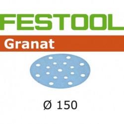 Festool Schuurschijf Granat Stf 150mm K80 10