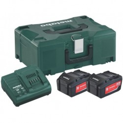 Metabo Accuset 18V 2X5,2A+Asc3036 Mloc