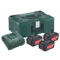 Metabo Accuset 18V 3X5,2A+Ascultra Mloc