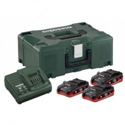 Metabo Accuset 18Vhd 3X3,1A+Asc3036 Mloc