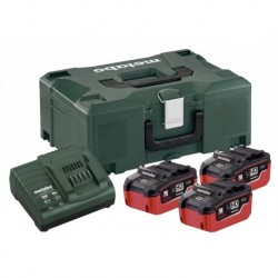 Metabo Accuset 18Vhd 3X5,5A+Asc3036 Mloc