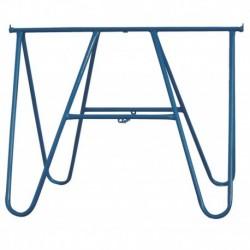 Klapschraag S-710100 110X100cm Blauw Gel
