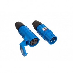 Cee-17 Steker 230V 16A 3-Polig Blauw