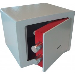 Privékluis Compact Safe met dubbelbaardsleutelslot