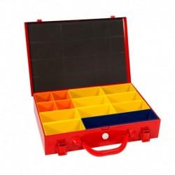 4Tecx Sysbox 335X230X70mm Rood 13-Vaks