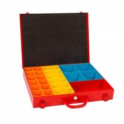 4Tecx Sysbox 445X340X70mm Rood 23-Vaks