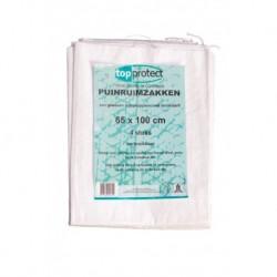 Puinzak 65X100 Pp Geweven+Bindkoord(4St)
