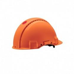 Peltor Bouwhelm G3000 Uvicator Oranje