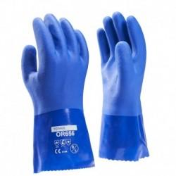 Towa Pvc Handschoen Or656 Blauw 30cm Xl
