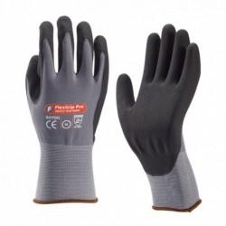 Flex Grip Pro Handschoen Gr/Zw Foam Mt10