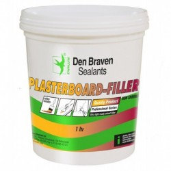 Zwaluw Plasterboard Filler 1L Pot Wit