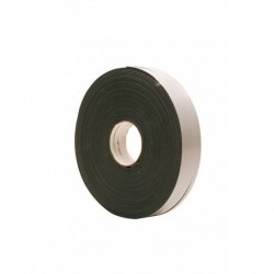 Glasband 9X3mm Pe Wit Rol 100M