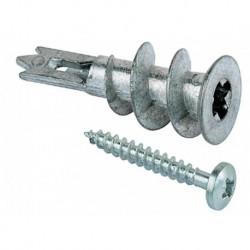 Fischer Gipspl Plug Gkm-S12+Schroef 35mm Ck 100 stuks