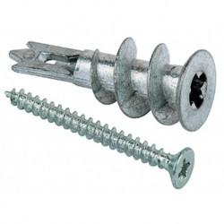 Fischer Gipspl Plug Gkm-S27+Schroef 50mm Pk 100 stuks