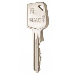 Extra mechanische sleutel slijtvast nieuw zilver