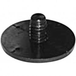 Demu Flensplaat 2275 M12 Hoog 2mm Zwart