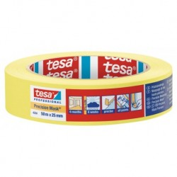 Tesa Precision Mask 4334 25mm 50M Geel