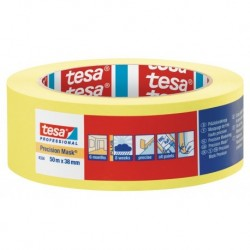 Tesa Precision Mask 4334 38mm 50M Geel