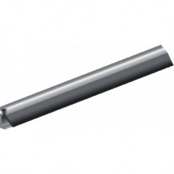 Ellen Tochtstrip Aib-4G 220cm Aluminium Acryl