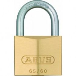 Abus Hangslot 65 15mm Messing