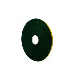 Paneltape Lengte 25M Breedte 12mm Kleur Zwart