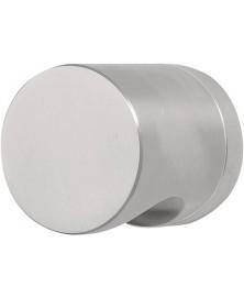 BASICS LB52D voordeurknop draaib.op rozet rvs