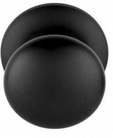 BASICS LB80V voordeurknop op rozet mat zwart