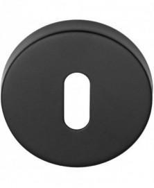 BASICS LBN50D sleutelplaatje 10mm dik mat zwart
