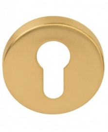 Formani BASICS LBY50D cilinderplaat 10mm dik PVD mat goud