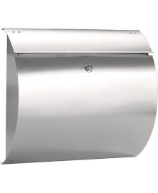 BASICS SIRIUS mailbox 375x330x105mm rvs