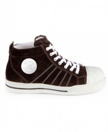 Redbrick Brown Toe cap S1P