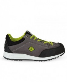 ToWorkFor Burst Safety Runner S3 grey lime