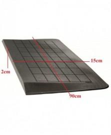 Drempelhulp 2 cm zwart met lijmlaag 150 mm x 900 mm