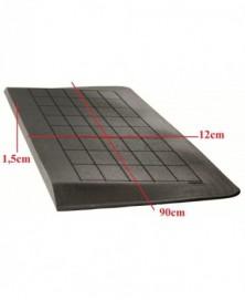 Drempelhulp 1,5 cm zwart met lijmlaag 120 mm x 900 mm