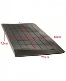 Drempelhulp 7,5 cm zwart 600 mm x 900 mm