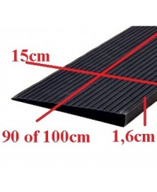 Drempelhulp 1,6 cm zwart 150 mm x 1000 mm