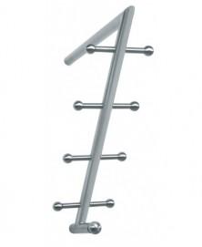 Artitec Kubic design garderobe systeem RVS mat