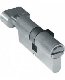 Artitec WC cilinder 25/20 mm + knop ni mat