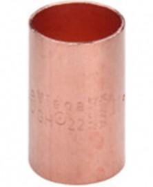 Sok capillair 12x12mm roodkoper