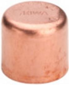 Kap capillair 12mm roodkoper