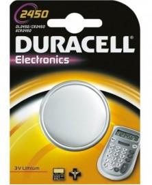 Durac knoopcel dl/cr2450 lith 3v br1 (1)