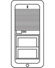 Siedle deurluidspreker 5198/8558 tlm511