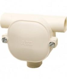 ABB t-doos 4206 5/8 pvc